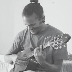 nabi , christopher jhureea, guitarist, singer, harness the vibe, a la vibe, mauritius