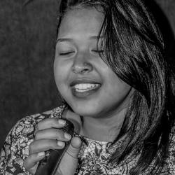 aglae, mauritian artist, mauritius, live performance, singer, female, emerging