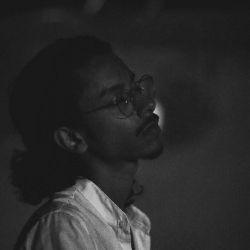asheel tymunn, portrait, black and white, photo
